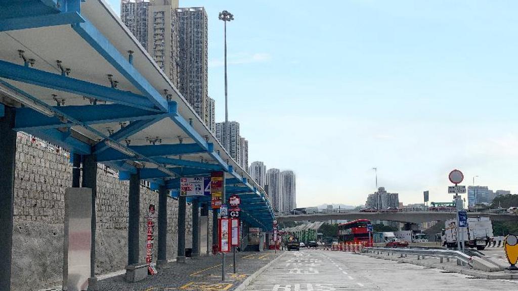 將軍澳隧道往九龍方向巴士轉乘站5月1日啟用 三十條巴士路線一覽