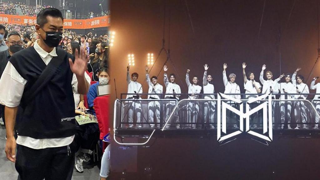 【MIRROR演唱會】古天樂與ViuTV老闆結伴睇尾場坐第一排 全場鏡粉見古仔群情洶湧