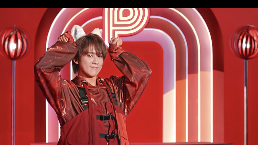 姜濤化身紅色萌貓拍銀行電子錢包廣告 跳得意Meow舞首歌唔啱音姜糖依然勁冧