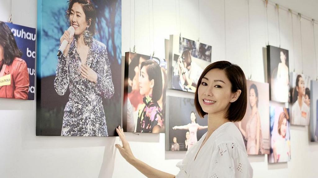 胡定欣40歲生日前獲粉絲大搞慶生相展 一炮過回顧入行近廿年報導 網民:TVB視后都有偶像式應援