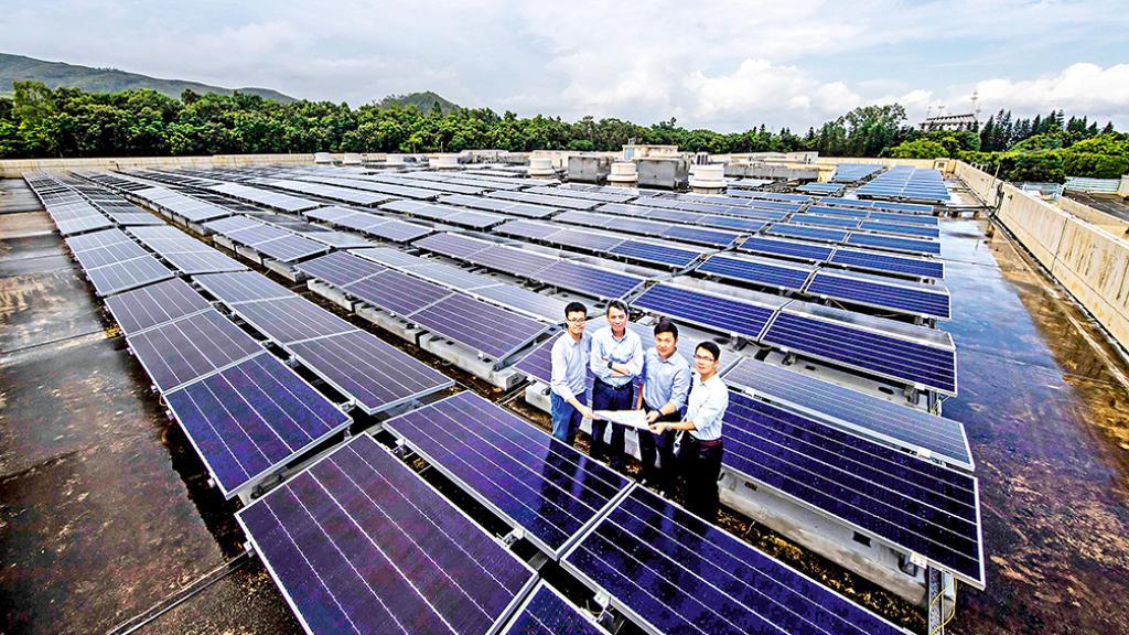 香港迪士尼樂園度假區 推動再生能源 建全港最大型太陽能發電系統