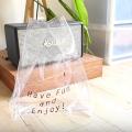 簡單材料就整到! DIY超簡約透明手袋