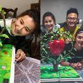黃翠如生日蕭正楠準備神秘驚喜 巨型蘋果樹蛋糕隱藏浪漫含意