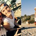 【哈利波特】妙麗、馬份重聚沙灘踩板   Emma Watson幫手宣傳Tom Felton新劇