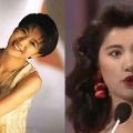 袁詠儀長髮紅唇造型出席阿嬌婚宴 網民大讚靚靚不輸28年前港姐時期