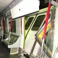 港鐵發生罕見兩車相撞事故 引網民發揮創意改成喪屍主題海報