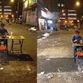 台男夜遊廟街獨歎黯然煲仔飯 餐廳趕收鋪收凈張枱令人哭笑不得