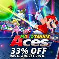 【Switch】《Mario Tennis Aces》限時免費玩!8月限定優惠同朋友大玩體感網球
