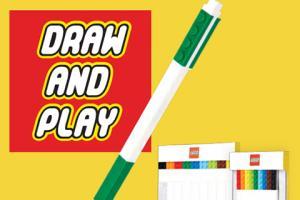 玩得又寫得!Lego全新文具系列