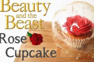 等一個人愛我。《美女與野獸》永恆玫瑰杯子蛋糕