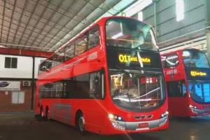 九巴換亮紅色新裝 網民:好有倫敦巴士Feel