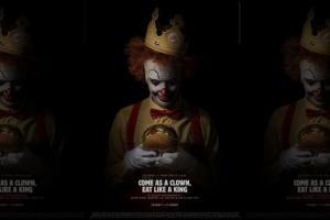 Burger King萬聖節廣告抽盡水 麥當勞叔叔變It小丑要食皇堡