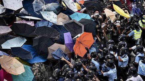 「Umbrella Revolution」背後的故事