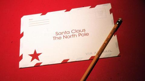 聖誕空郵12月截郵 寫信給聖誕老人