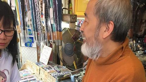 香港僅存修遮師傅 遮王邱生:「能修補即管修補」