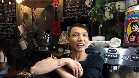 屯門Cafe年輕老闆 用自身故事感染客人:要相信夢想!