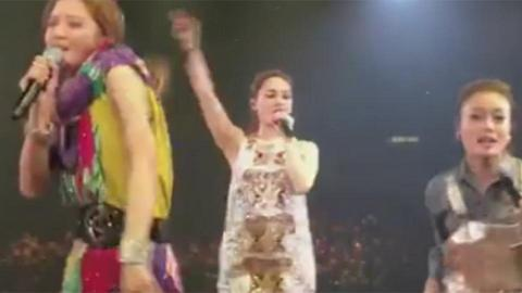Twins演唱會尾場Joey High爆上台fb直播唱歌 網友: 佢真係醉左 XD