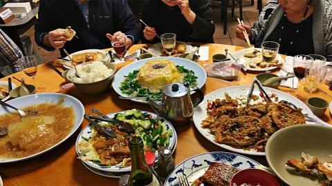 食一餐團年飯就好似經歷一次包大人審案