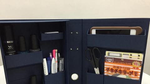 間格收納盒、收納座!3款整理桌面小幫手