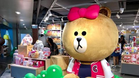 率先入店!LINE FRIENDS新開九龍區店