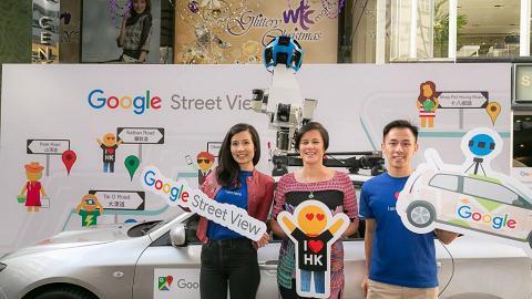 Google街景大更新 !街景車首次駛入南大嶼山