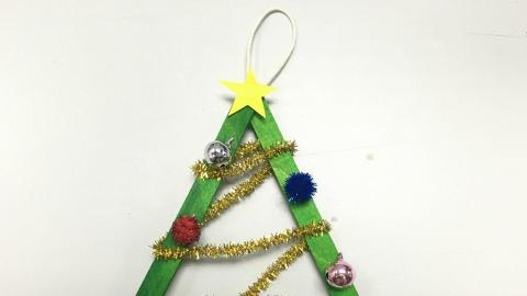 簡單小工具 自製聖誕樹掛飾