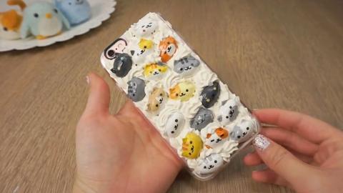 材料只需4種!用開心果殼輕鬆自製貓貓手機殼