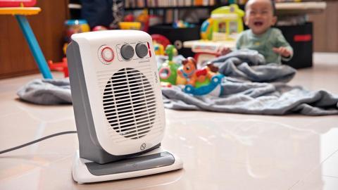 慎選暖風機!消委會測出市面3款暖風機未符安全標準