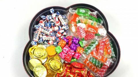 一年又見面!新年全盒經典糖果