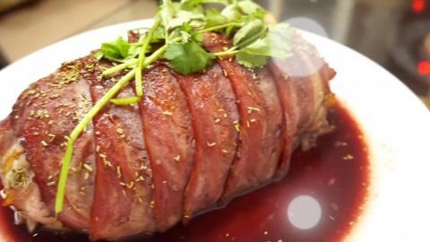 食戟之靈還原系列:滲透Juicy肉汁的薯蓉仿冒脆皮烤肉