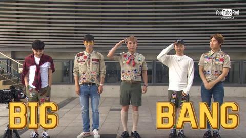 出道10周年真人騷大爆T.O.P隱藏魅力 BIGBANG扮童軍戶外玩煮飯仔