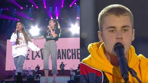 Justin Bieber、Katy Perry力撐 14組巨星現身Ariana Grande慈善演唱會