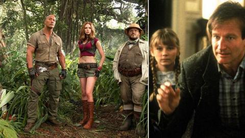 相隔22年翻拍《逃出魔幻紀》細路變青少年被吸入遊戲