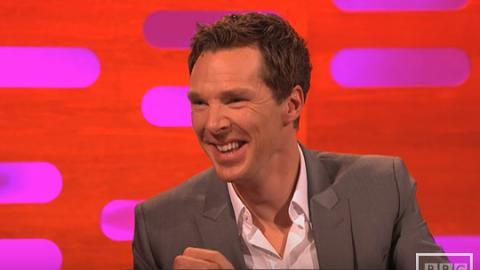 性感英國腔男神Benedict 竟然講唔到「企鵝」呢個字!