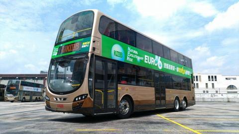 全港首架太陽能板巴士!支持環保減排溫室氣體