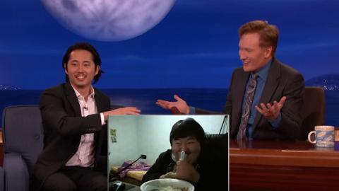 《行屍》Steven Yeun介紹最騎呢直播食飯 美國人反應爆笑