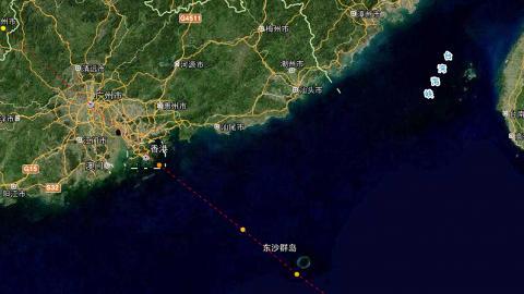 熱帶氣旋料今傍晚形成 周日或直襲香港澳門