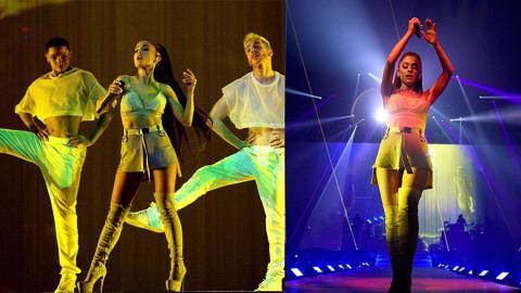 Ariana Grande嚴密保安下high爆開騷  大灑肖像銀紙冧粉絲
