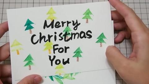 簡單畫出6款可愛聖誕卡 用DIY橡皮印章整幾多張都得!