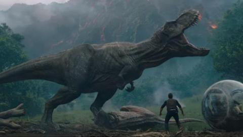 火山爆發威脅恐龍島 《侏羅紀世界》續集2018年中回歸
