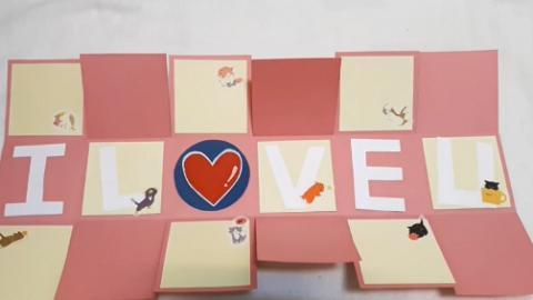 自製禮物盒爆炸心意卡 簡單材料整出小機關!