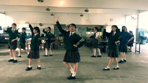 女校生考DSE前跳《到此一遊》!為中學生涯留下最難忘的回憶