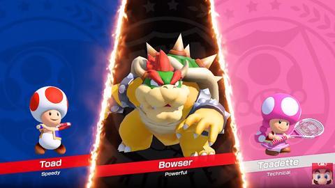 另一任天堂 Switch 大作! Mario 體感網球全家一齊玩