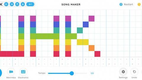 Google新出免費網上作曲器 盞鬼七彩音符!畫畫寫歌新方法