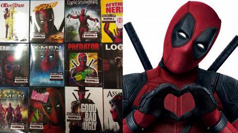 死侍成功爭取登上15套電影封面  美國推出限量「死侍版」Blu-ray