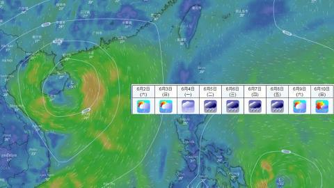終於落雨降溫!天文台:下周中期有狂風暴雨