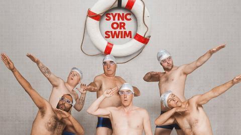 【大叔水舞間】大叔版五個撲水的少年 8個中佬熱血挑戰韻律泳賽