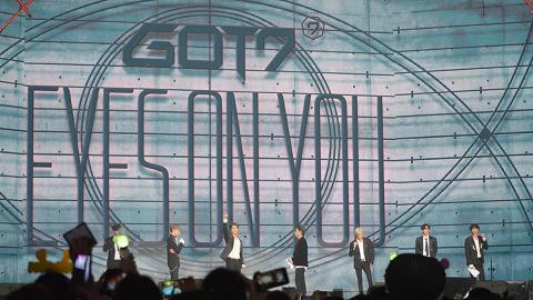 【GOT7香港演唱會】GOT7巡唱尾站 香港仔王嘉爾兩度興奮剝衫晒肌