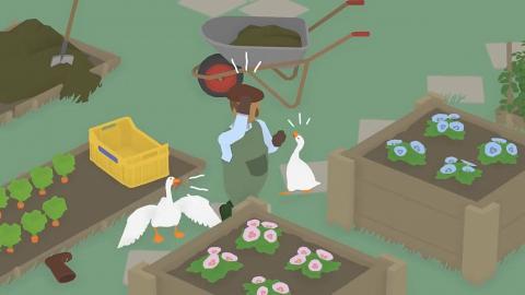 【Switch】無厘頭新遊戲《Untitled Goose Game》麻煩鵝搗亂惡作劇整蠱人類
