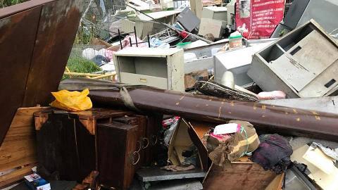 【颱風山竹】強颱風下守護遺棄毛孩 愛心狗主受傷送院 網民即時出手相助